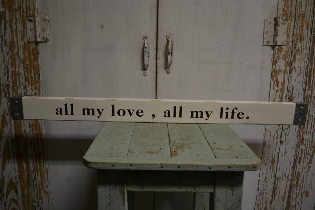 All My Love Wall Art