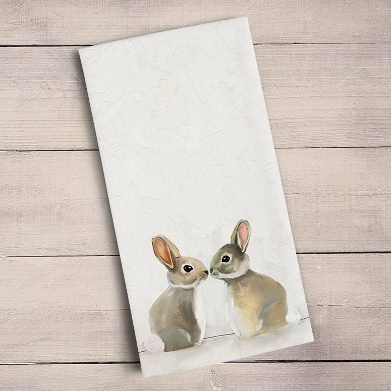 Baby Bunny Kiss Towel