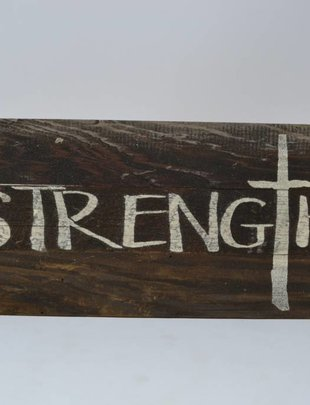 Strength Reclaimed Pallet Sign
