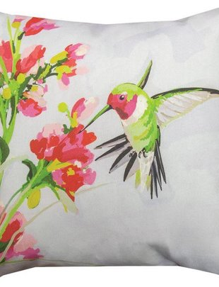 Anna Hummingbird Pillow