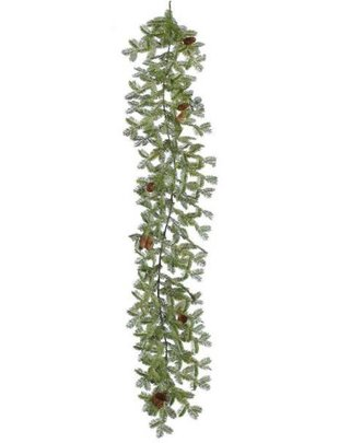 6' Oregon Fir Cone Garland