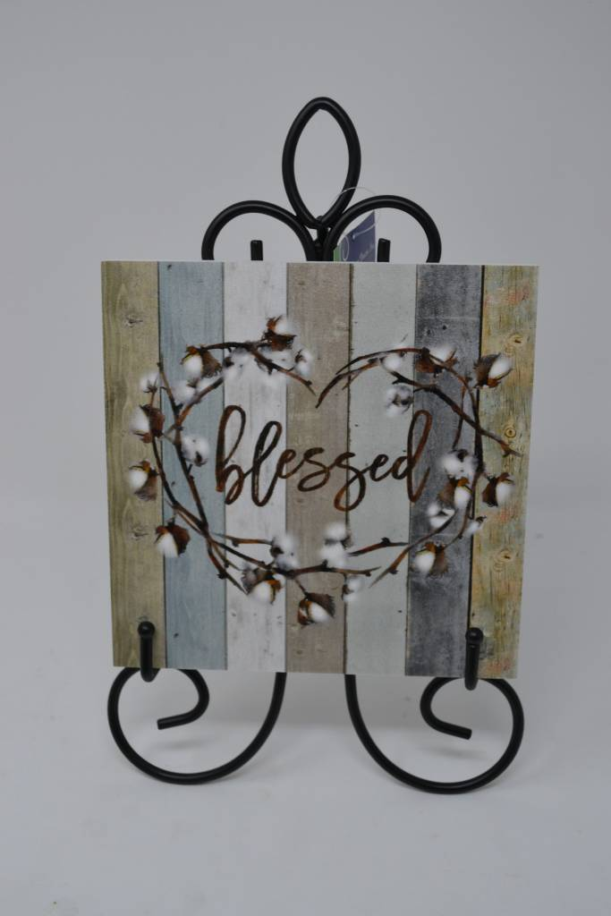 Decorative Tile w/ Easel