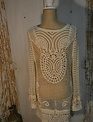 Crochet Tunic With Pearls