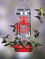 32oz Glass Bottle Hummingbird Feeder