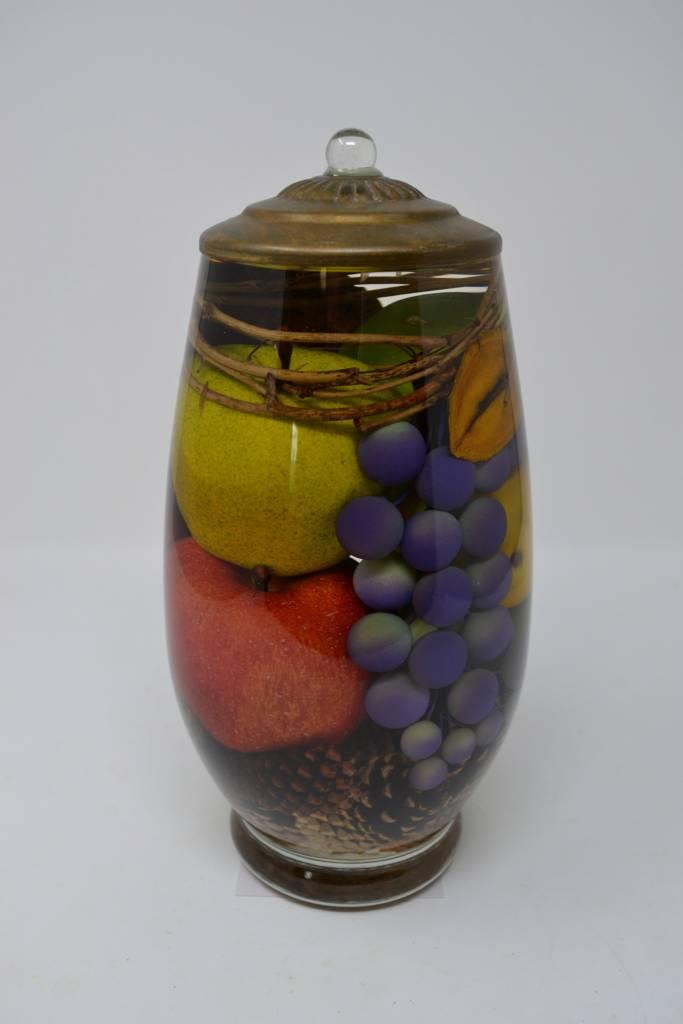 Fruit Bowl Lifetime Candle