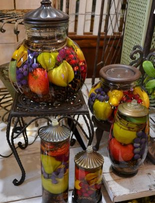 Fruit Bowl Lifetime Candle (5 Sizes)