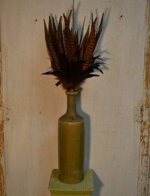 Fall Phesant Feather Spray