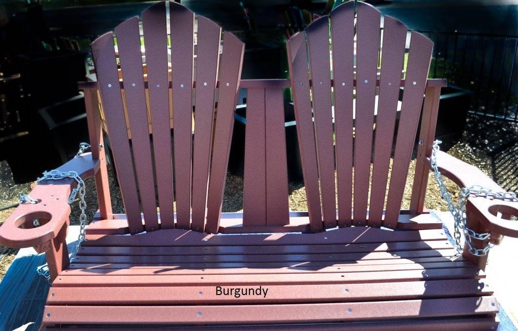 4-ft Fan-Back Outdoor Swing