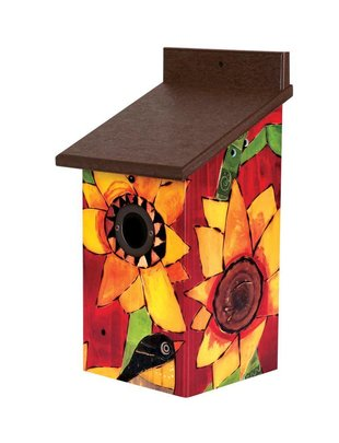 Sunflower Delight Birdhouse