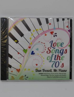 Love Songs Of The 70's Music CD