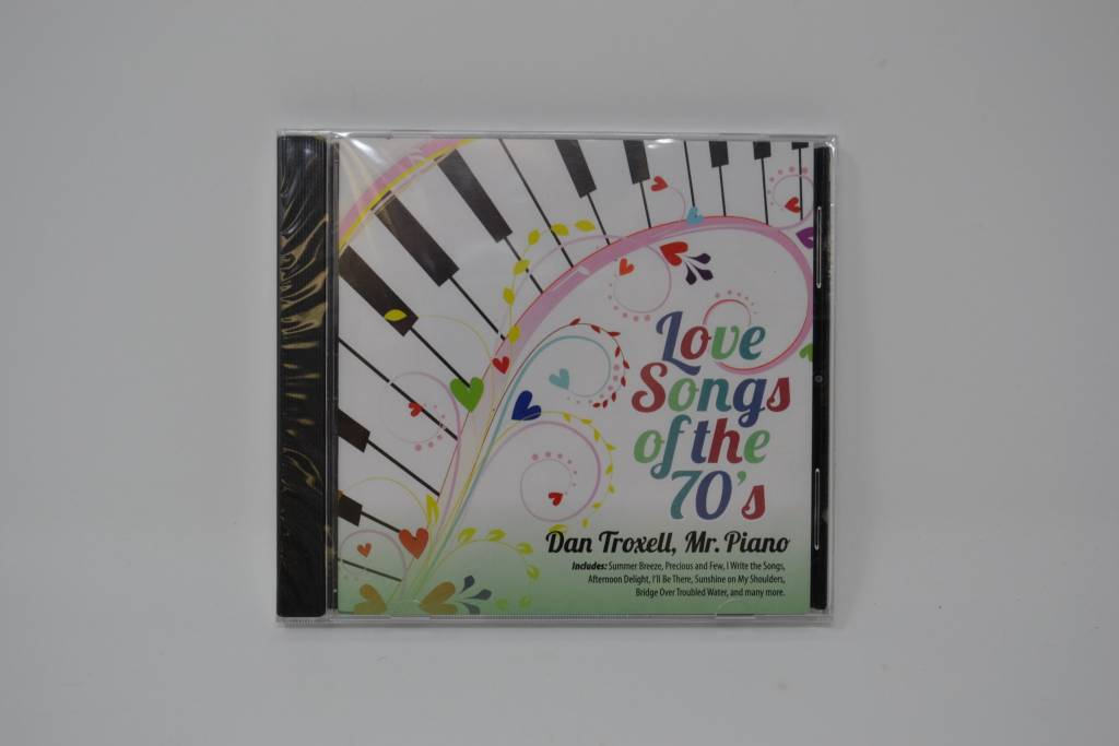 Love Songs Of The 70s Music CD
