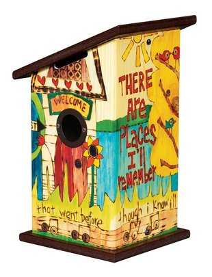 In My Life Birdhouse