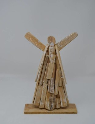 Large Table Top Driftwood Angel