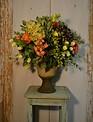 Elegant Pedestal English Rose Arrangement