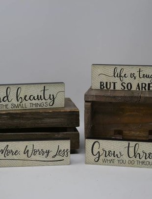 Mini Message Signs (4 Styles)