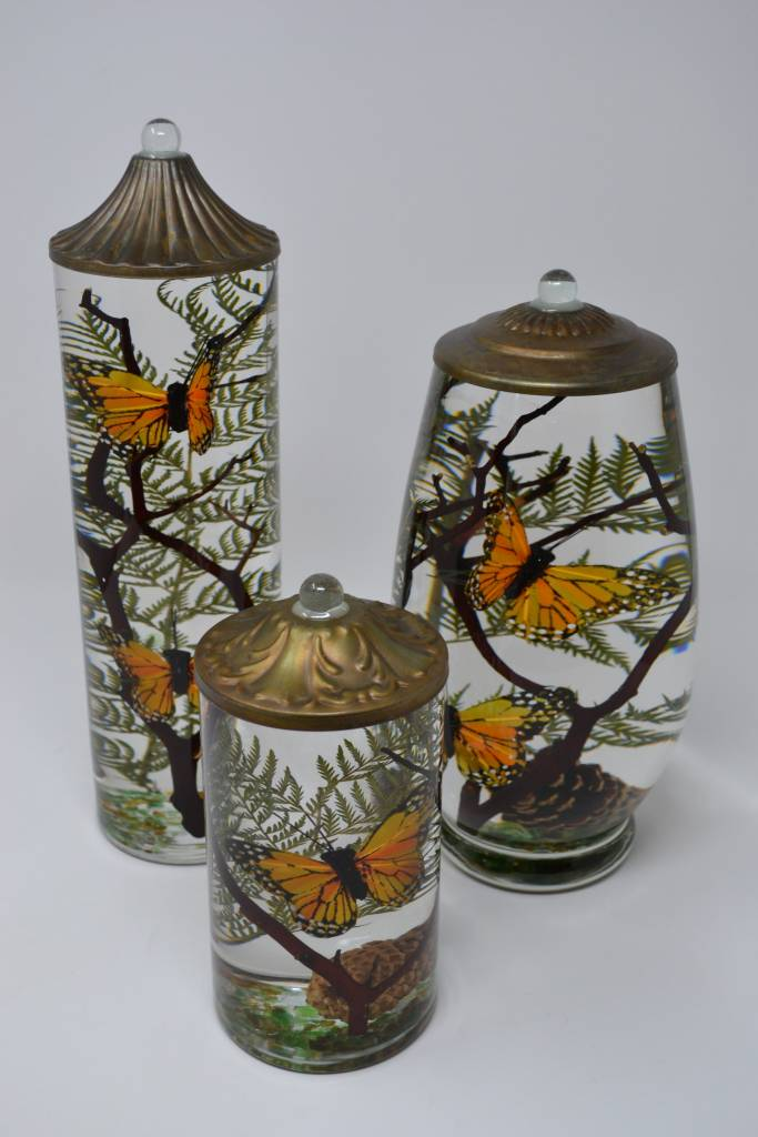Monarch Butterfly Lifetime Oil Candle The Last Straw