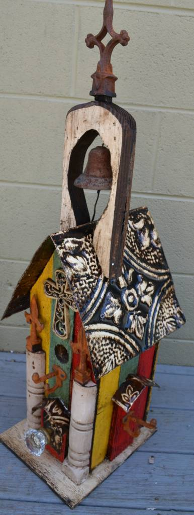 Multicolor Bell Lorenzo Birdhouse