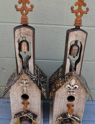 Small Bell Lorenzo Birdhouse (2 Styles)