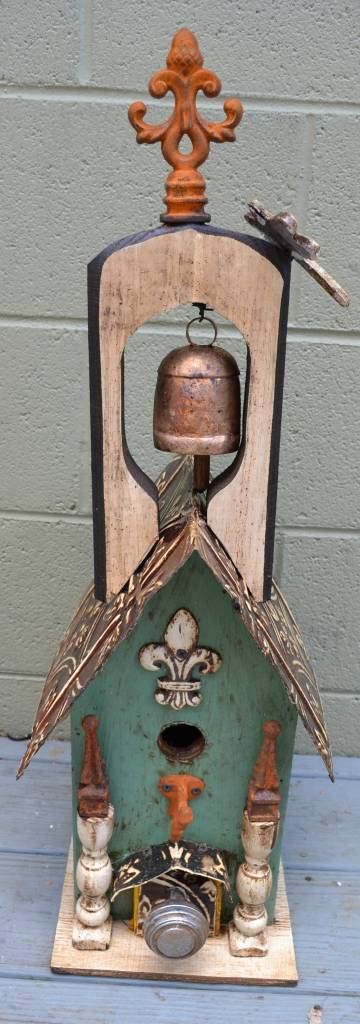 Dragonfly Bell Lorenzo Birdhouse