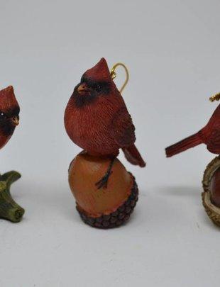 Cardinal Ornament (3 Styles)