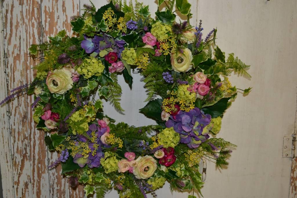 Custom Provence Wreath