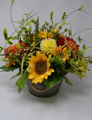 Low Farmhouse Custom Arrangement