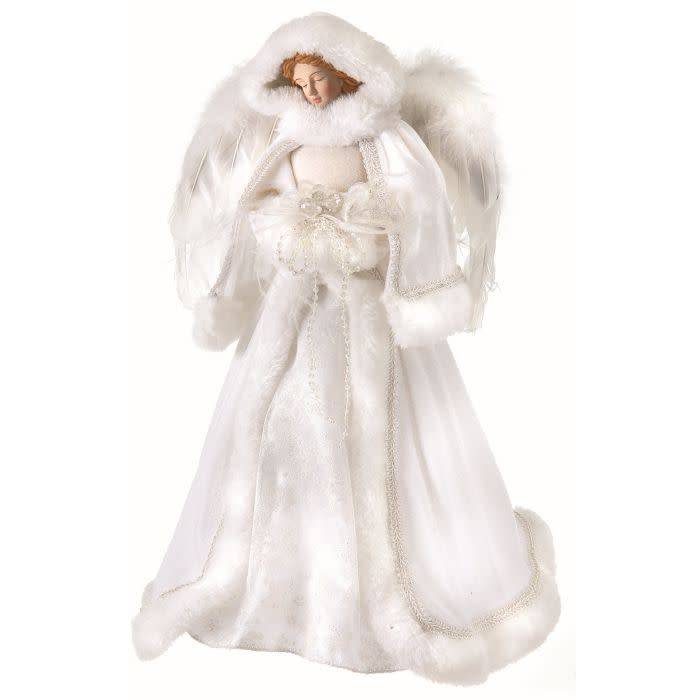 """16"""" Winter Angel Tree Topper"""
