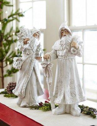 """22"""" Winter Shimmer Santa (2 Styles)"""