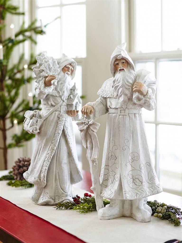 """22"""" Winter Shimmer Santa"""