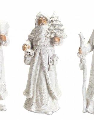 """13"""" Winter Shimmer Santa (3 Styles)"""