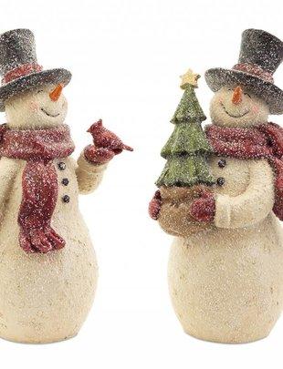 Vintage Snowman w/ Red Scarf (2 Styles)