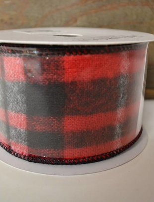 Lumberjack Plaid Ribbon 10 yds