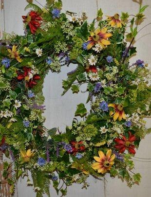 Summer Wildflower Wreath
