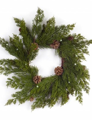 Bountiful Pine Wreath