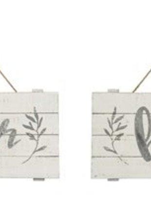 Horizontal Galvanized Sign (2 Styles)