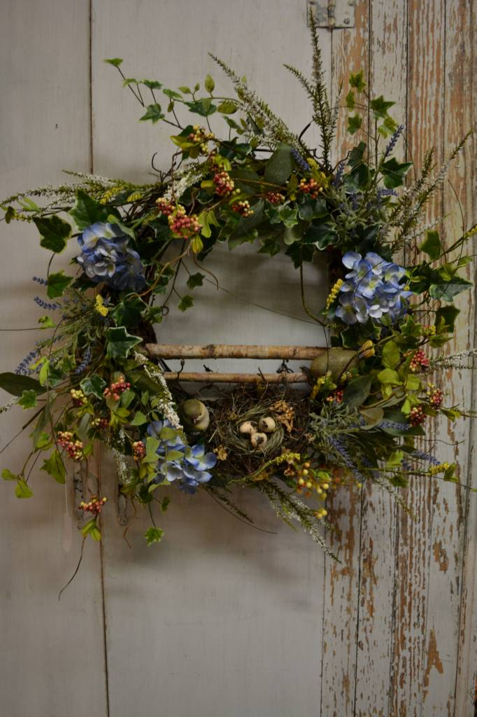 Bird Wreath with Nest