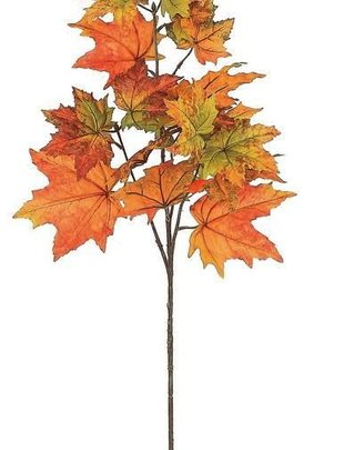 Autumn Maple Leaf Spray