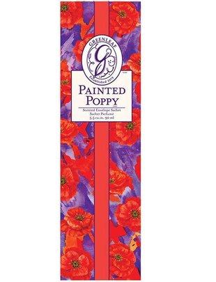 Painted Poppy Slim Sachet