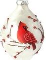 Cardinal Branch Ornament