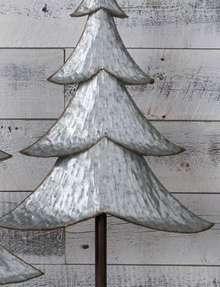 "29"" Galvanized Rustic Christmas Tree"