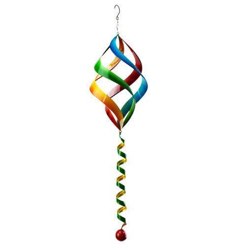 Hanging Multi Color Spiral Spinner