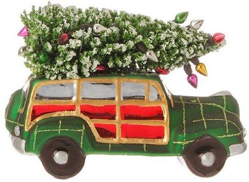 Christmas Woody Ornament