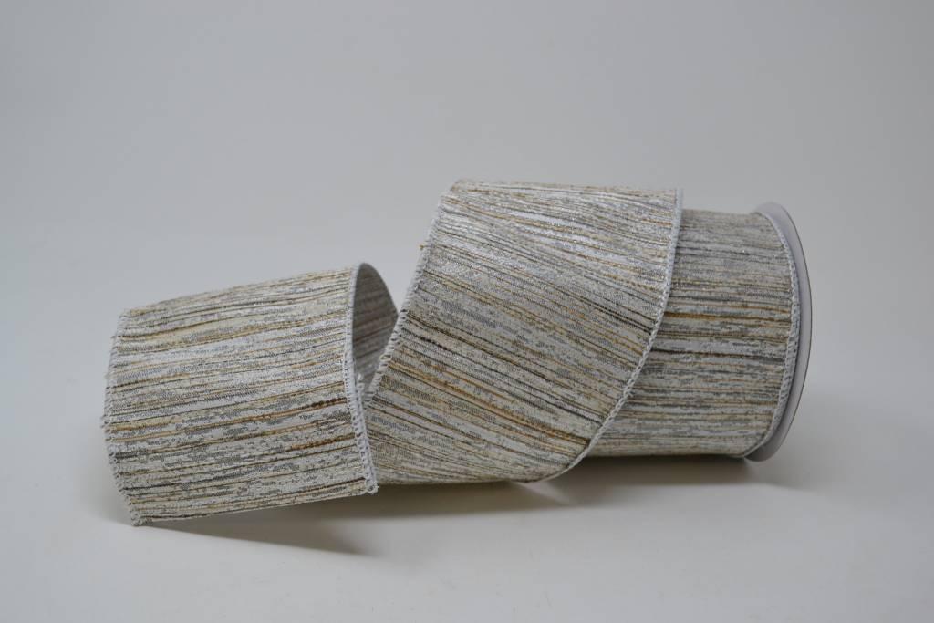 Metallic Woven Ribbon 10 Yds