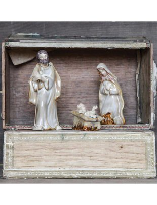 Stoneware Mini Holy Family