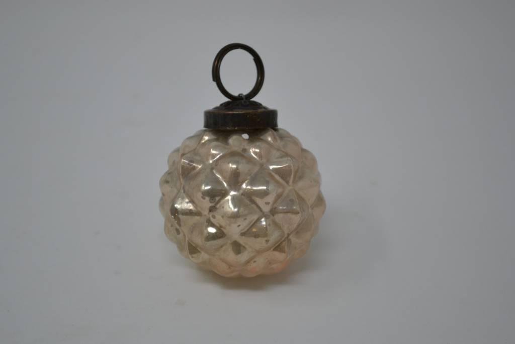 Vintage Mercury Glass Ornament (4 Styles, 2 Colors)