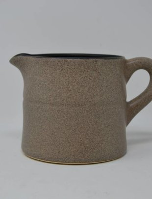 """4.5"""" Taupe Pitcher"""