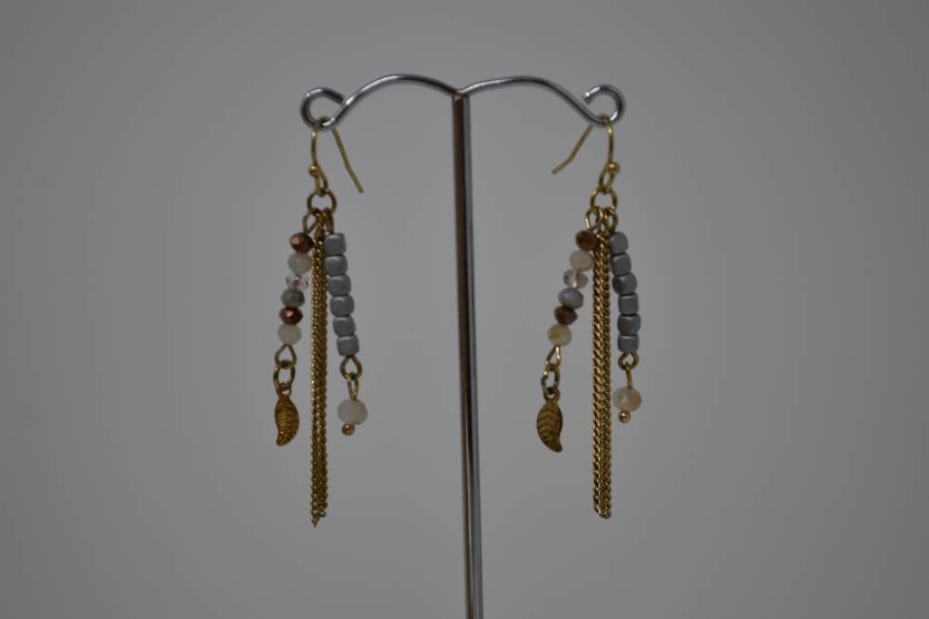 Antique Tassel Earrings (6 Colors)