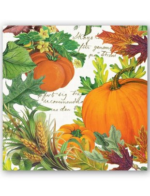 Pumpkin Melody Cocktail Napkins