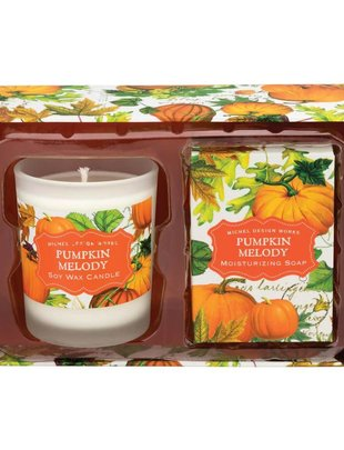 Pumpkin Melody Candle and Soap Set