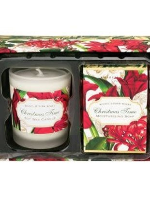Christmas Time Candle and Soap Set